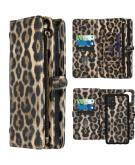 2-in-1 Wallet Booktype voor de Samsung Galaxy A51 - Leopard