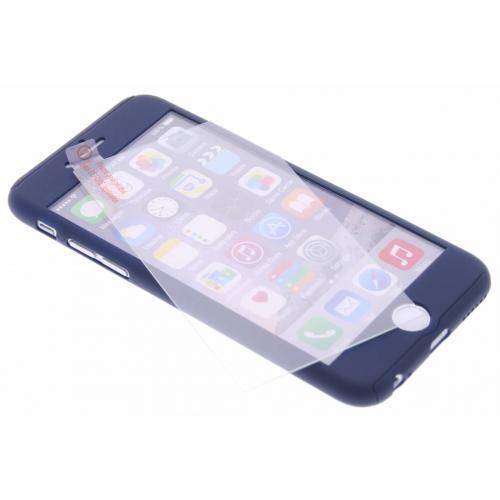 360° Effen Protect Backcover voor iPhone 6 / 6s - Donkerblauw