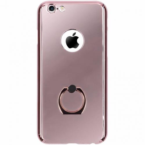360° Effen Protect Backcover voor iPhone 6 / 6s - Rosé goud