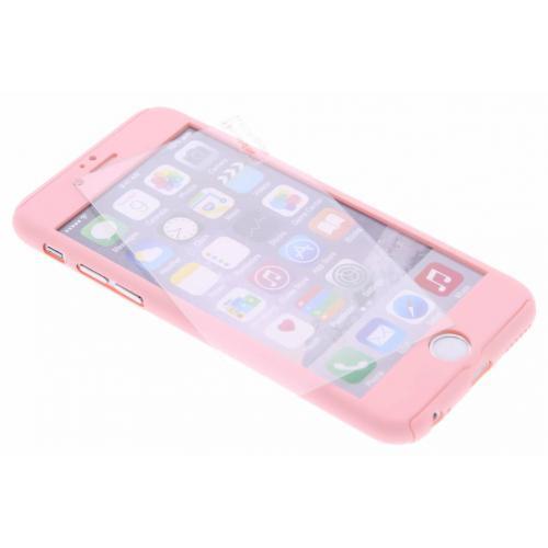 360° Effen Protect Backcover voor iPhone 6 / 6s - Roze