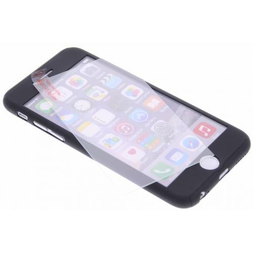 360° Effen Protect Backcover voor iPhone 6 / 6s - Zwart
