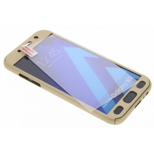 360° Effen Protect Backcover voor Samsung Galaxy A5 (2017) - Goud