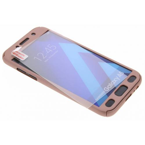 360° Effen Protect Backcover voor Samsung Galaxy A5 (2017) - Roze