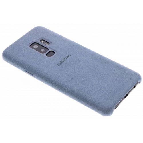 Alcantara Backcover voor Samsung Galaxy S9 Plus - Mintgroen
