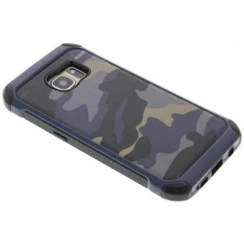 Army Defender Backcover voor Samsung Galaxy S7 - Blauw