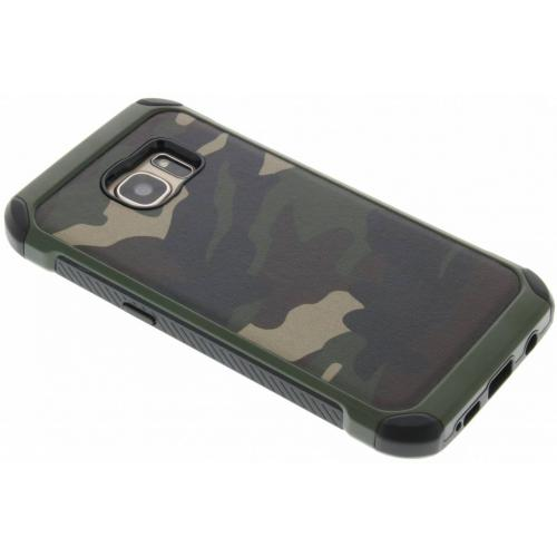 Army Defender Backcover voor Samsung Galaxy S7 - Groen