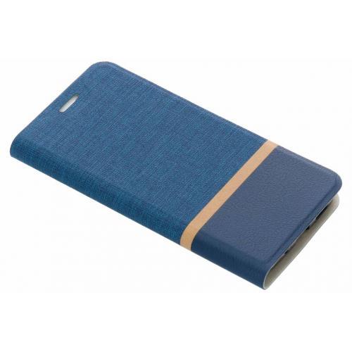 Blauwe stripe booklet voor de HTC 10