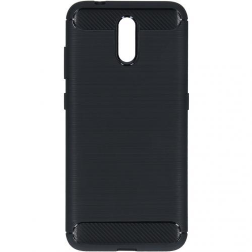 Brushed Backcover voor de Nokia 2.3 - Zwart
