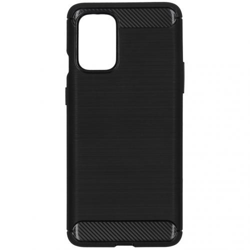 Brushed Backcover voor de OnePlus 8T - Zwart
