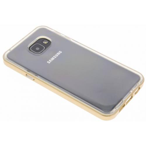 Bumper Backcover voor Samsung Galaxy A3 (2016) - Goud