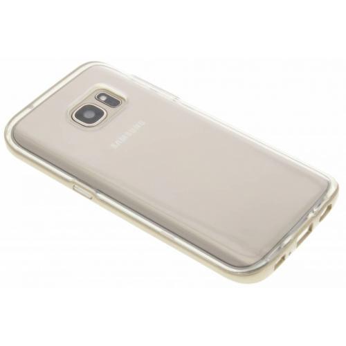 Bumper Backcover voor Samsung Galaxy S7 - Goud