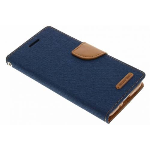 Canvas Diary Booktype voor Samsung Galaxy J3 / J3 (2016) - Blauw