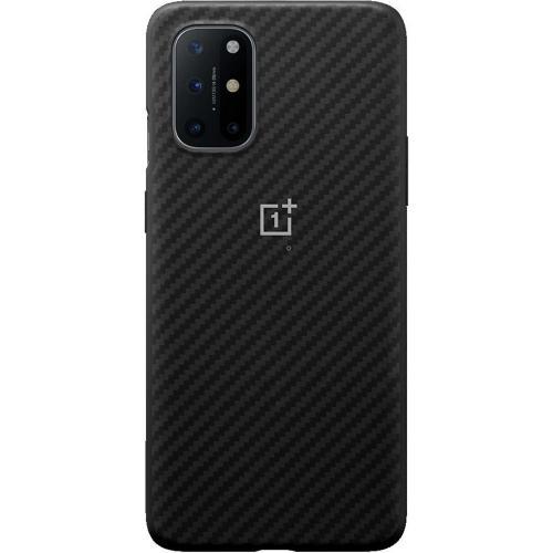 Carbon Protective Backcover voor de OnePlus 8T - Zwart