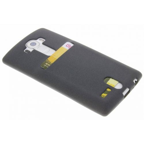 Card Backcover voor LG G4 - Grijs