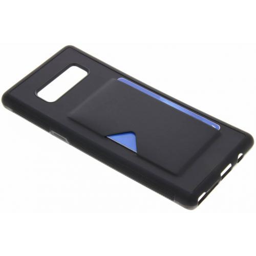Cardslot Backcover voor Samsung Galaxy Note 8 - Zwart