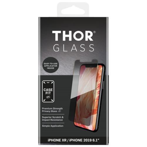 Case-Fit Privacy Screenprotector + Easy Apply Frame voor de iPhone 11 / iPhone Xr