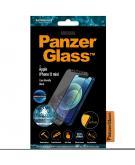 Case Friendly AntiBlueLight Screenprotector voor de iPhone 12 Mini - Zwart