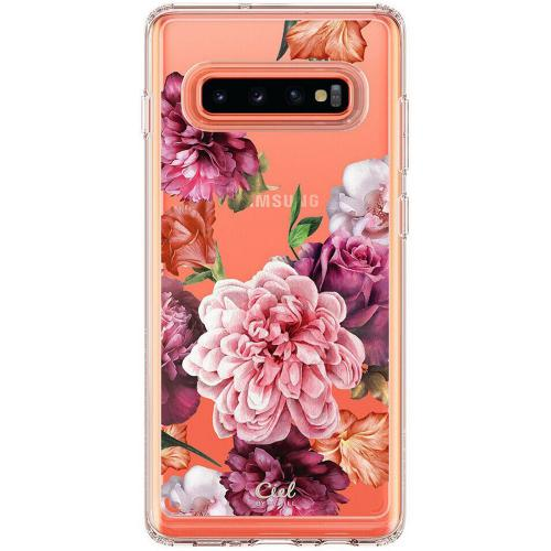 Ciel by Cyrill Cecile Backcover voor de Samsung Galaxy S10 - Rose Floral