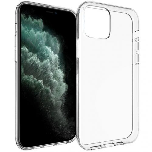 Clear Backcover voor de iPhone 12 5.4 inch - Transparant