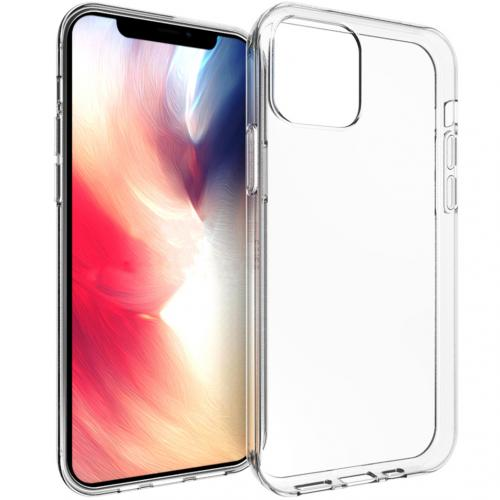 Clear Backcover voor de iPhone 12 6.1 inch - Transparant