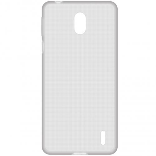 Clear Backcover voor de Nokia 1 Plus - Transparant
