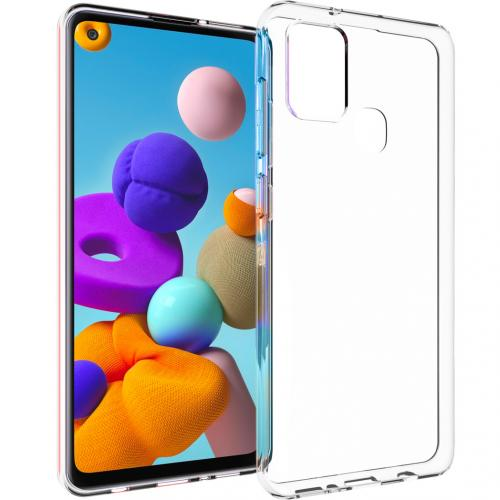 Clear Backcover voor de Samsung Galaxy A21s - Transparant