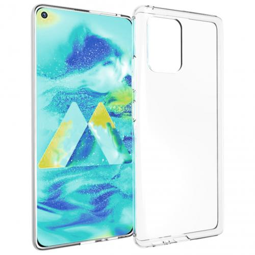 Clear Backcover voor de Samsung Galaxy S10 Lite - Transparant