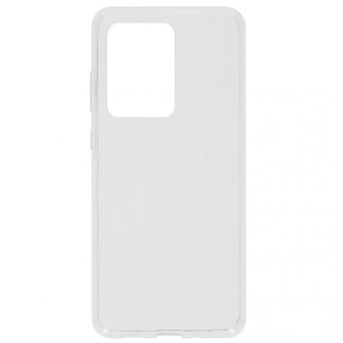 Clear Backcover voor de Samsung Galaxy S20 Ultra - Transparant