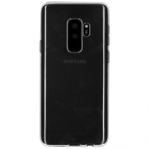 Clear Backcover voor Samsung Galaxy S9 Plus - Transparant
