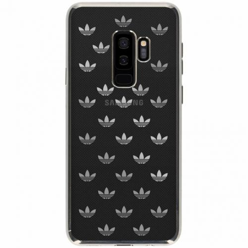 Clear Backcover voor Samsung Galaxy S9 Plus - Zilver