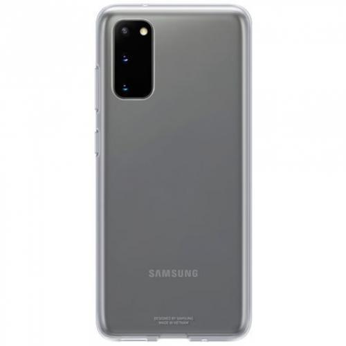 Clear Hardcase Backcover voor de Galaxy S20 - Transparant