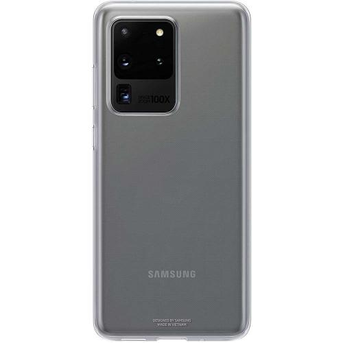 Clear Hardcase Backcover voor de Galaxy S20 Ultra - Transparant