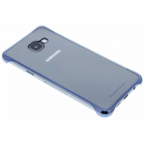 Clear Hardcase Backcover voor Samsung Galaxy A3 (2016) - Donkerblauw
