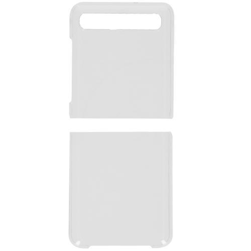 Clear PC Backcover für das Samsung Galaxy Z Flip - Transparant