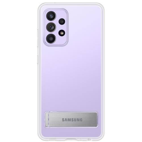 Clear Standing Backcover voor de Galaxy A52 (5G) / A52 (4G) - Transparant