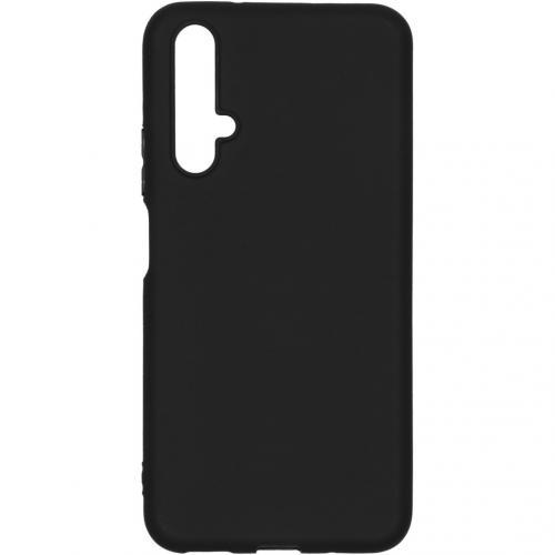 Color Backcover voor de Huawei Nova 5t / Honor 20 - Zwart