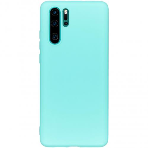 Color Backcover voor de Huawei P30 Pro - Mintgroen