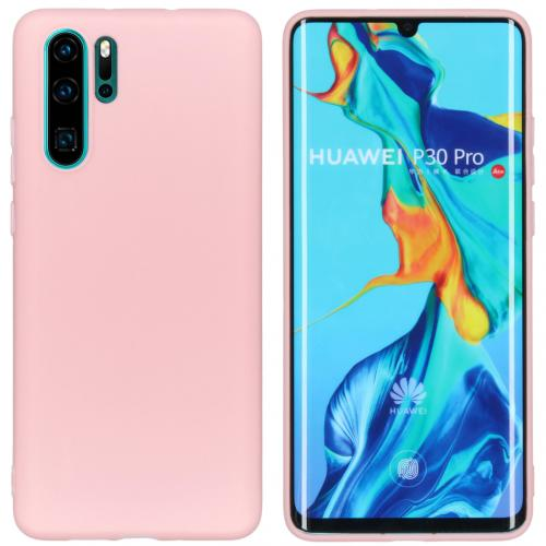 Color Backcover voor de Huawei P30 Pro - Roze