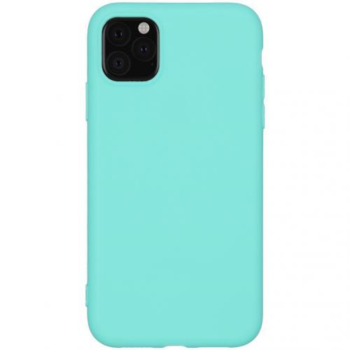 Color Backcover voor de iPhone 11 - Mintgroen