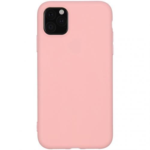 Color Backcover voor de iPhone 11 - Roze