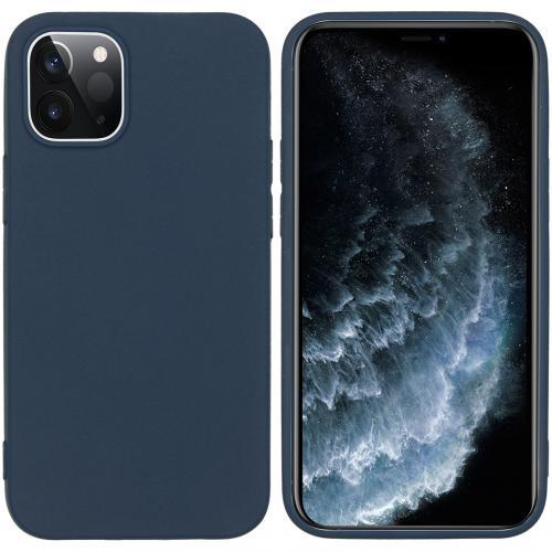 Color Backcover voor de iPhone 12 5.4 inch - Donkerblauw