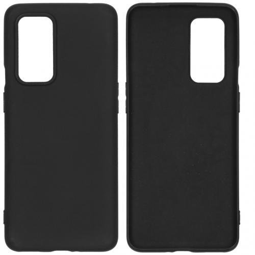 Color Backcover voor de OnePlus 9 Pro - Zwart