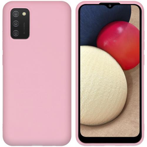 Color Backcover voor de Samsung Galaxy A02s - Roze