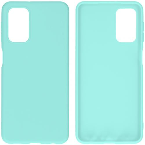 Color Backcover voor de Samsung Galaxy A32 (5G) - Mintgroen