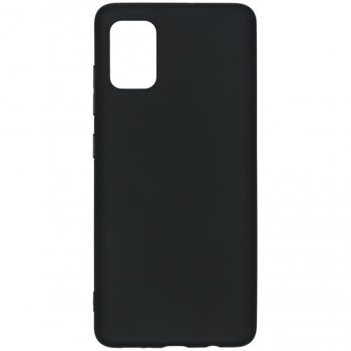 Color Backcover voor de Samsung Galaxy A51 - Zwart