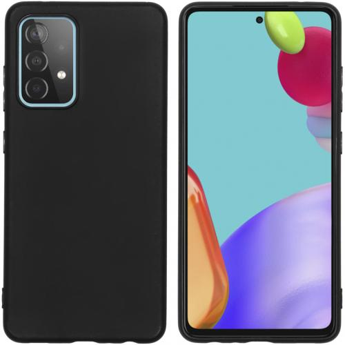 Color Backcover voor de Samsung Galaxy A52 (5G) / A52 (4G) - Zwart