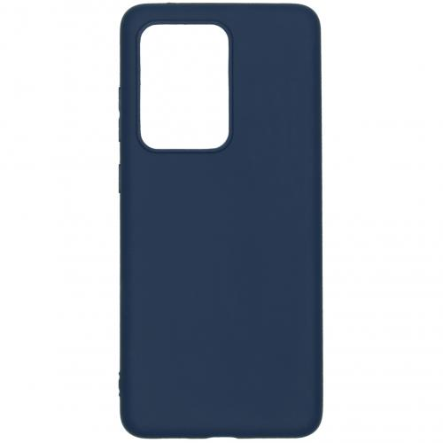 Color Backcover voor de Samsung Galaxy S20 Ultra - Donkerblauw