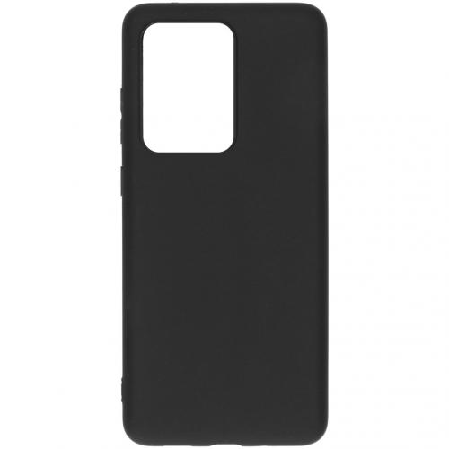 Color Backcover voor de Samsung Galaxy S20 Ultra - Zwart