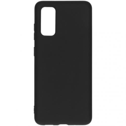 Color Backcover voor de Samsung Galaxy S20 - Zwart