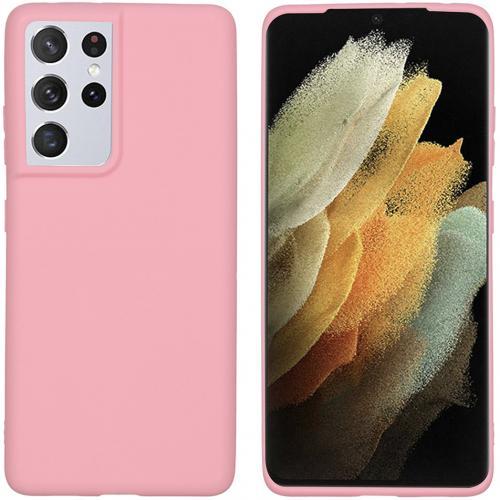 Color Backcover voor de Samsung Galaxy S21 Ultra - Roze